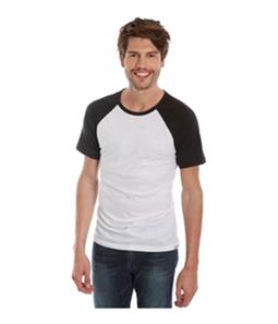 Lucky Brand Mens Raglan Basic T-Shirt