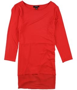 Alfani Womens Mixed Media Basic T-Shirt