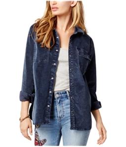 Lucky Brand Womens Utility Button Up Shirt