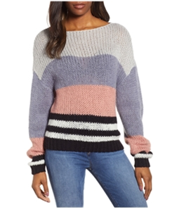 Lucky Brand Womens Bold Stripe Pullover Sweater