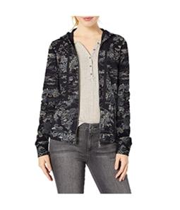 Lucky Brand Womens Kimono Garden Hoodie Sweatshirt