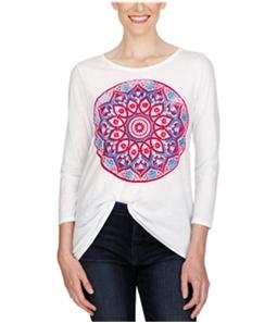 Lucky Brand Womens Rangoli Graphic T-Shirt