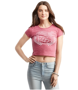 Aeropostale Womens Standard Issue Graphic T-Shirt