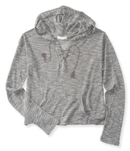 Aeropostale Womens Cropped Hoodie Sweatshirt