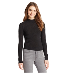 Aeropostale Womens Ribbed LS Pullover Sweater