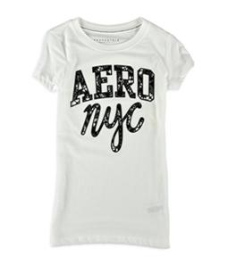 Aeropostale Womens Lacey NYC Embellished T-Shirt