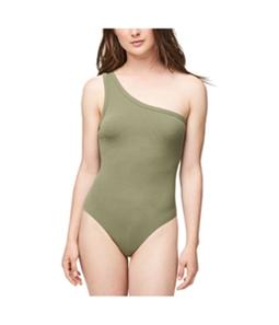 Aeropostale Womens Ribbed Bodysuit Jumpsuit