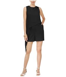 Thalia Sodi Womens Overlay Romper Jumpsuit