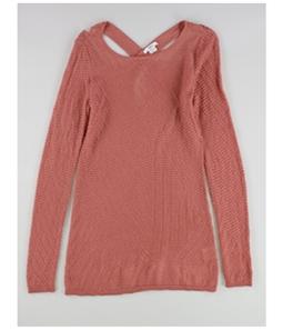 bar III Womens Cross-Back Tunic Pullover Sweater