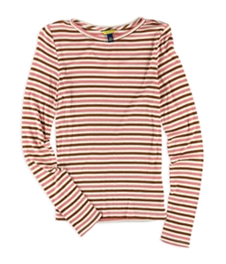Aeropostale Womens Ribbed Striped Pullover Sweater
