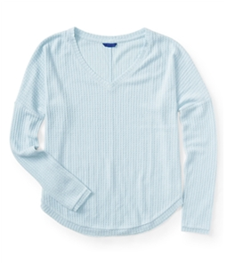 Aeropostale Womens Incredibly Soft LS Thermal Sweater