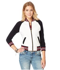 Aeropostale Womens Varsity Fleece Sweatshirt