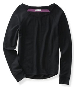 Aeropostale Womens Soft Jersey Knit Sweater