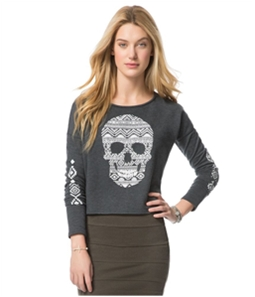 Aeropostale Womens Southwest Skull Sweatshirt