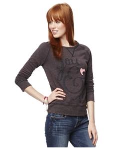 Aeropostale Womens You and Me Sweatshirt