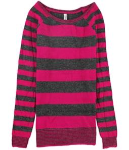 Aeropostale Womens Skinny Stripe Crew Knit Sweater
