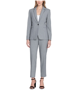 Tahari Womens Convertible Collar Pant Suit