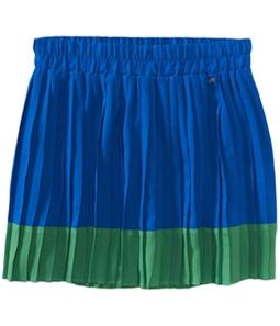 Aeropostale Womens Wowoone Pleated Mini Skirt