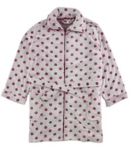 Charter Club Womens Polka Dot Short Robe