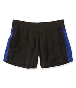 Aeropostale Womens Fashion Stripe Mini Athletic Shorts