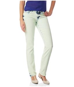 Aeropostale Womens Bayla Dyed Skinny Fit Jeans