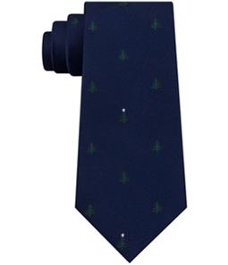 Tommy Hilfiger Mens Christmas Tree Self-tied Necktie