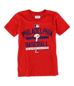 Majestic Boys Philadelphia Phillies Team Property Graphic T-Shirt