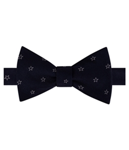 Tommy Hilfiger Mens Multi Star Self-tied Bow Tie