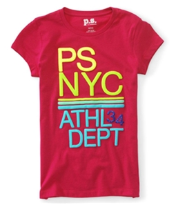 Aeropostale Girls NYC Athl Dept 34 Graphic T-Shirt