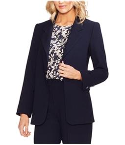 Vince Camuto Womens Parisian Crepe Blazer Jacket
