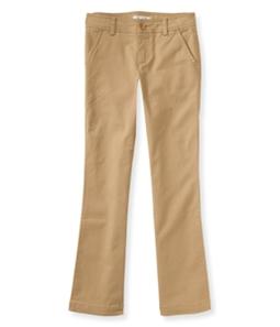 Aeropostale Girls Slim Bootcut Casual Chino Pants