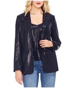 Vince Camuto Womens Sequin Blazer Jacket