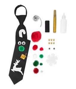Noel Mens DIY Ugly Kit Neck Tie Set