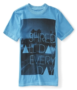 Aeropostale Boys Shred All Day Everyday Graphic T-Shirt