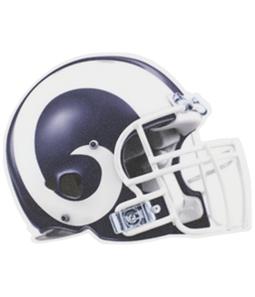 WinCraft Unisex LA Rams Helmet Decal Souvenir