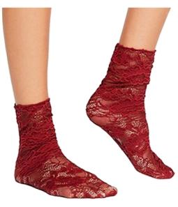 Free People Womens Bella Lace Midweight Socks