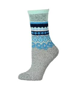 Free People Womens Snowbird Printed Slipper Midweight Socks