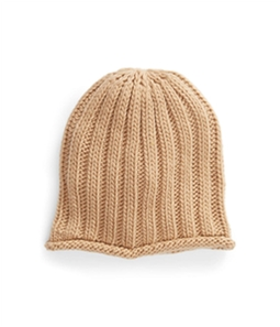 Free People Womens Cable Knit Beanie Hat