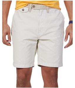 Nautica Mens Modern-Fit Canvas Casual Chino Shorts