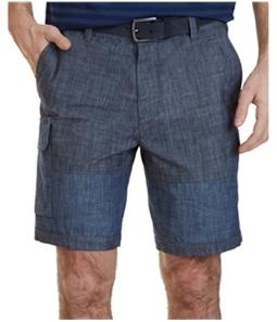 Nautica Mens Colorblock Casual Cargo Shorts