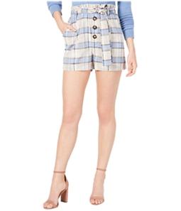 J.O.A. Womens Paperbag Casual Walking Shorts
