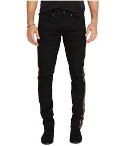 Buffalo David Bitton Mens Ash-X Camo Side-Stripe Slim Fit Jeans