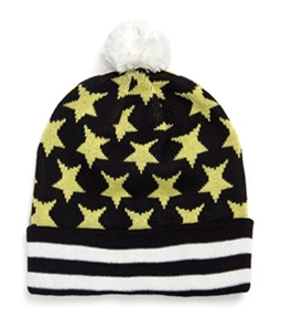 Black Scale Mens The Blvck Star Beanie Hat