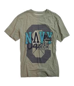CAVI Mens Ls Woven Graphic T-Shirt