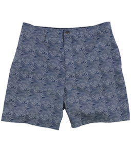 Calvin Klein Mens Wave Print Swim Bottom Board Shorts