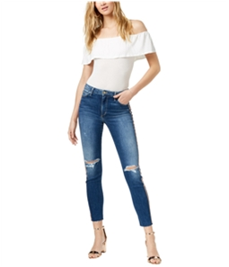 Joe's Womens The Charlie Ripped Skinny Fit Jeans