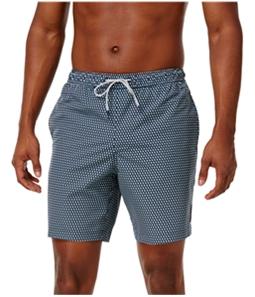 Michael Kors Mens Birdseye Swim Bottom Board Shorts