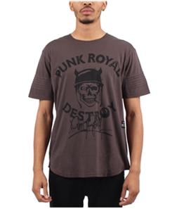 Punk Royal Mens Destroy Graphic T-Shirt
