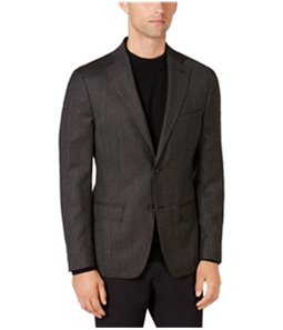 DKNY Mens Hudson Two Button Blazer Jacket