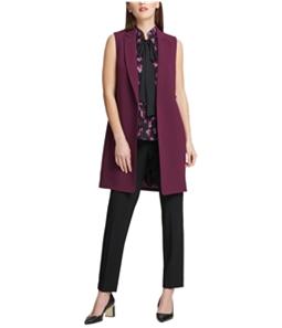 DKNY Womens Long Outerwear Vest
